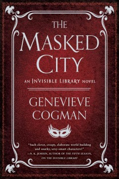The masked city cover image